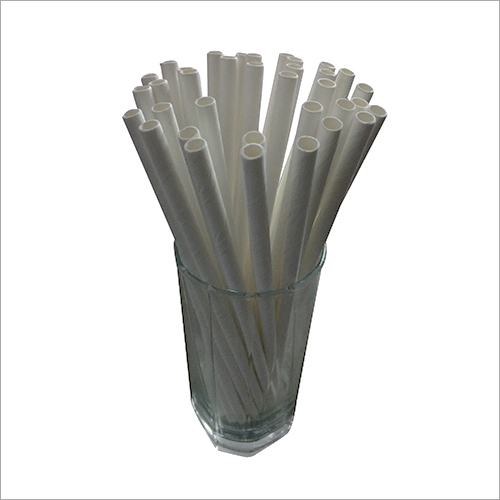 Plain Cocktail Paper Straw