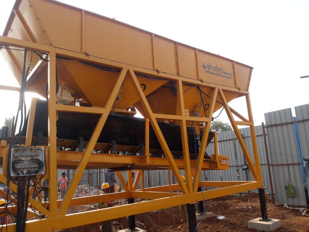 Mobile Concrete Batching Plant