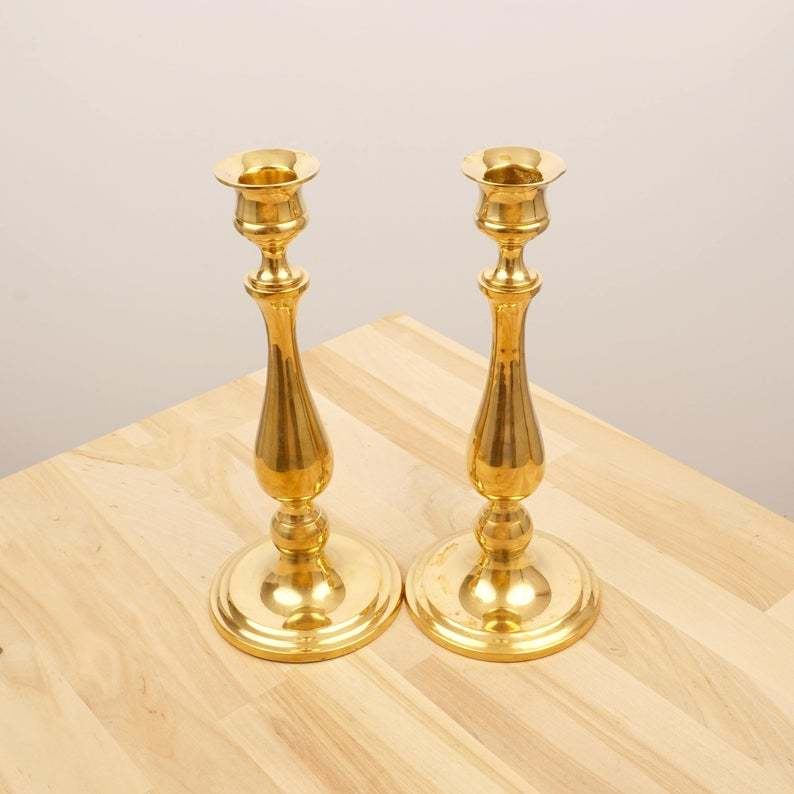Solid brass Candle stick holder