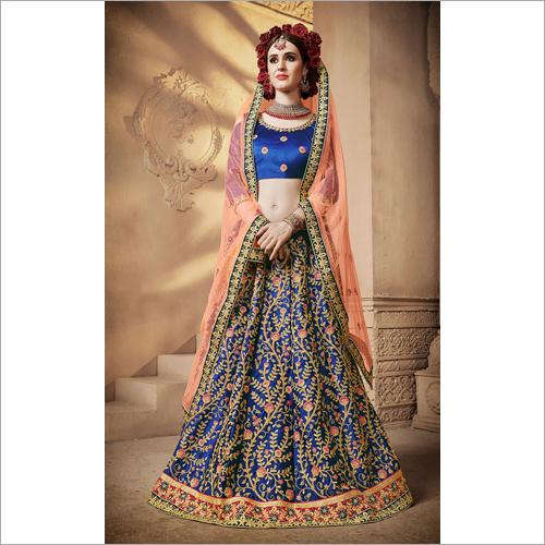 Ladies Heavy Embroidered Lehenga Choli