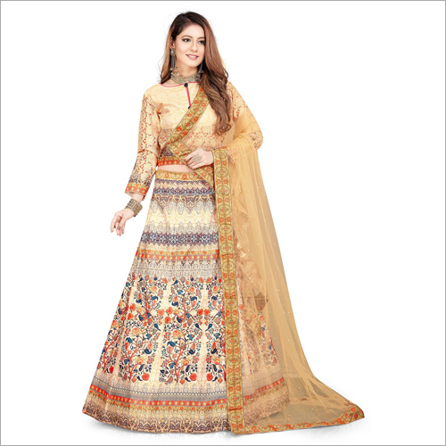 Ladies Printed Lehenga Choli