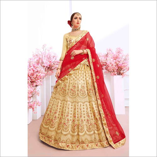 Ladies Embroidered Lehenga Choli