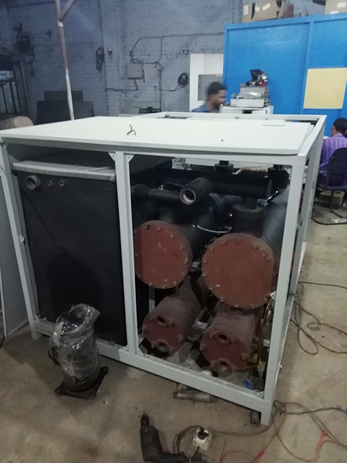 30TR Double ckt Water cooled Chiller