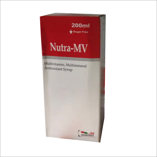 200ml Multivitamin Multimineral Antioxidant Syrup