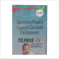 30ml Cefpodoxime Proxetil And Potassium Clavulanate Oral Suspension