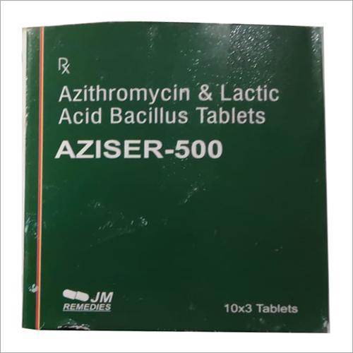 Azithromycin And Lactic Acid Bacillus Tablet