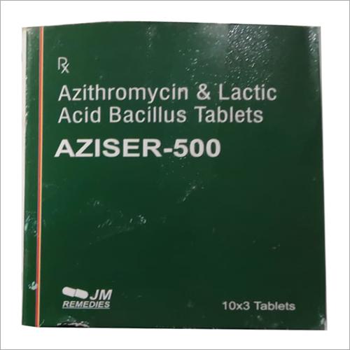 Azithromycin And Lactic Acid Bacillus Tablet