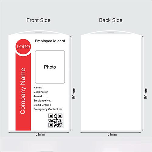 Office Employee ID Card