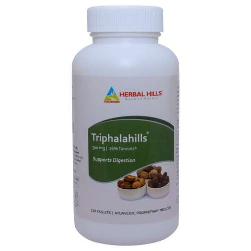 Ayurvedic Medicine for Digestion Problem - Triphala 120 Capsule