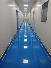 Blue epoxy Floor coatings