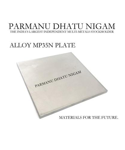 Alloy MP35N Plate