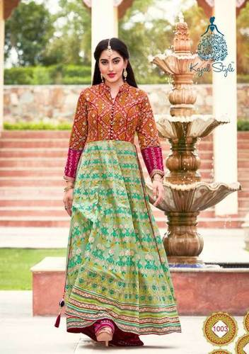 Loan Cotton Anarkali Wholesale Kurti