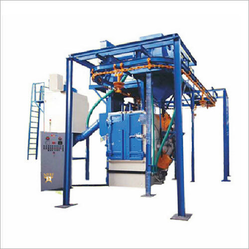 Close Loop Hanger Type Shot Blasting Machine