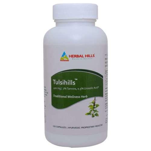 Ayurvedic Medicine For Immunity Booster - Tulsi 120 Capsule Certifications: Iso
