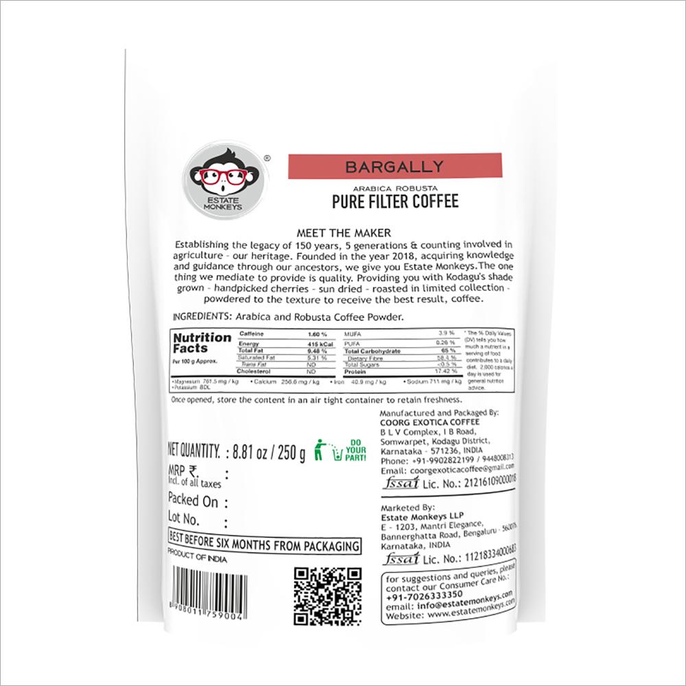 Bargally Pure Filter Coffee Powder