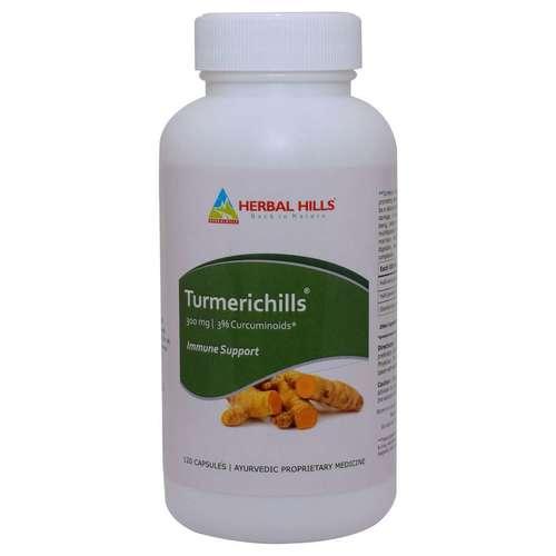 Ayurvedic Turmeric Capsule Immunity & Skin care capsule 120 Capsule
