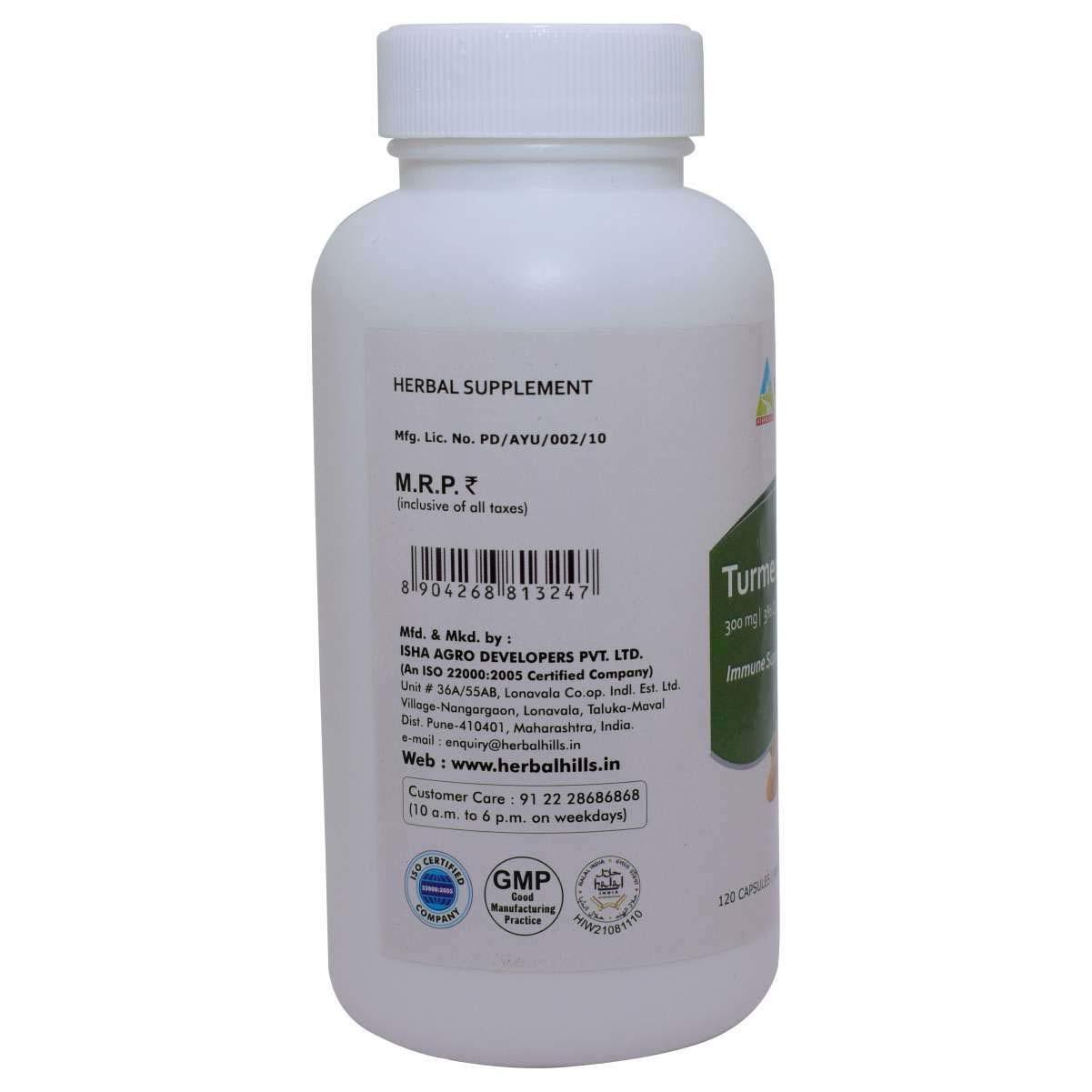 Ayurvedic Turmeric Skin care capsule - Turmerichills