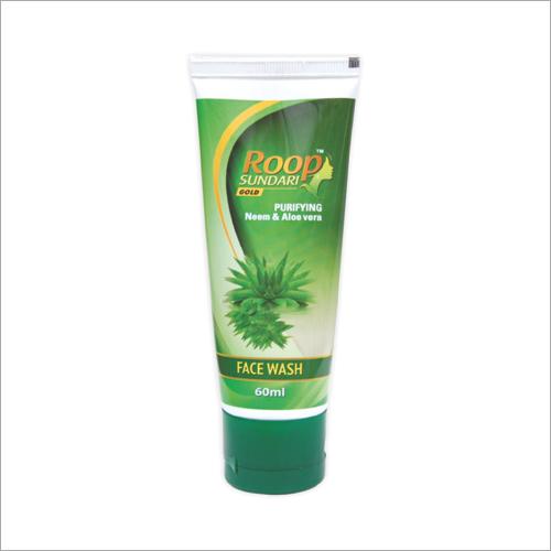 Roop Sundari Gold 60 ml Purifying Neem And Aloevera Face Wash