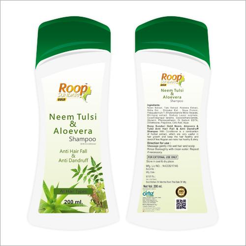 Roop Sundari Gold 200 ml Neem Tulsi And Aloevera Shampoo