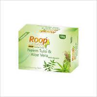 Roop Sundari Gold Neem Tulsi And Aloevera With Glycerin Herbal Soap