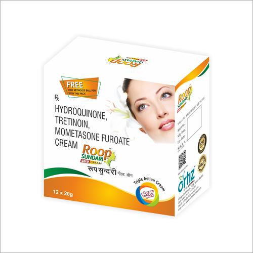 Roop Sundari Gold Hydroquinone Tretinoin Mometasone Furoate Cream
