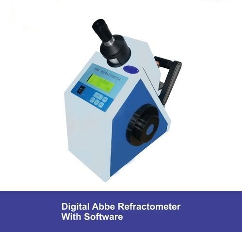 Digital abbe refractometer with softwere