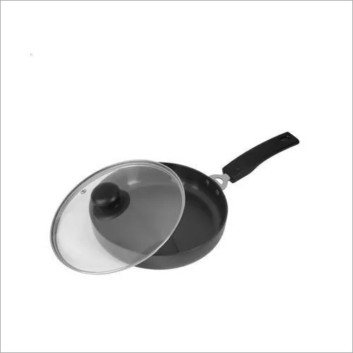 215mm Glass Lid Deep Fry Pan