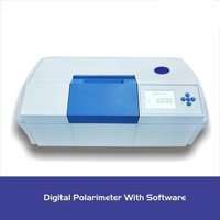 Digital automatic polarimeter with softwere