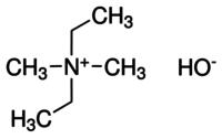 Diethyldimethylammonium hydroxide solution, 50ML