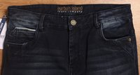Mens Partywear Dobby Lycra Solid Jeans