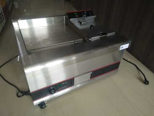 ELECTRIC GRIDDLE WITH ELECTRIC FRYER