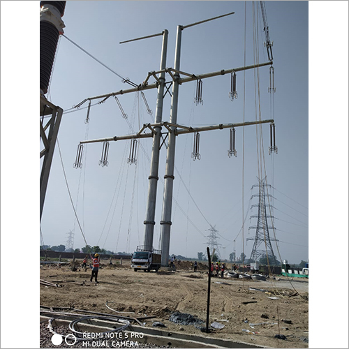 Electric Distribution Pole