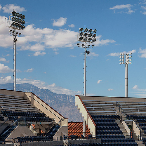Stadium Polygonal High Mast Light Pole