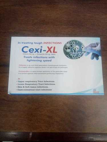 Cefixime 200 mg +Dicloxacillin 500 mg Tablets