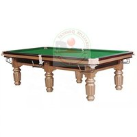 Solid Wood 8ft 9ft Billiard Pool Tables