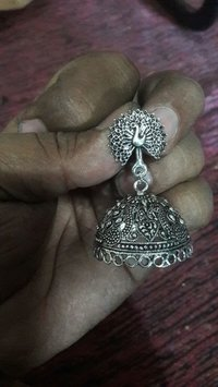 Metal Brass Earring