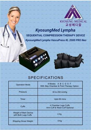 Kyosungmed Lympha VascuPress KL 2000 Pro