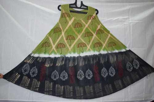 Ladies Print Umbrella Dress