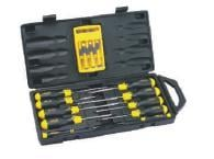 16PC Cushion Grip Screwdriver Set
