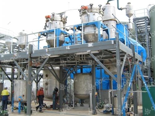 Palm Oil Processing Plant