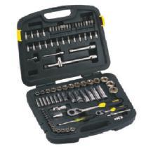86PC 1.4 & 1.5 Inch SQ DR 6PT Socket Set