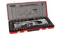 43PC 1.2 Inch SQ DR 12PT Socket Set