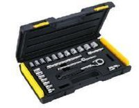 24PC 3.8 Inch SQ DR 6PT Socket Set