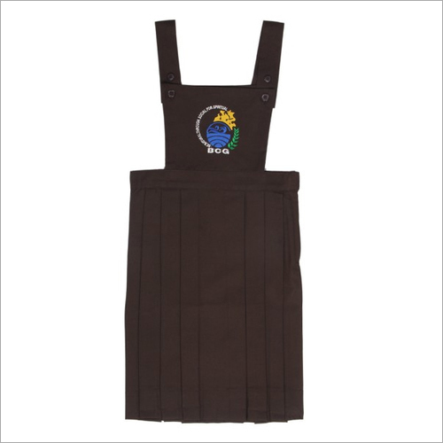Girls School Dungaree Uniform