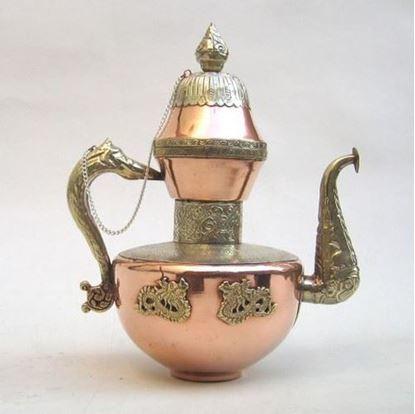 Copper Aftaba kettle