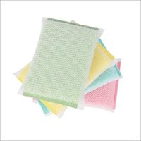 Kitchen cleaning sponge scrubber cloth for dish washing made in china