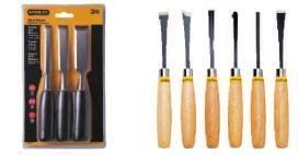 3PC & 6PC Wood Chisel Set