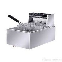 1 tank 1 basket electric fryer