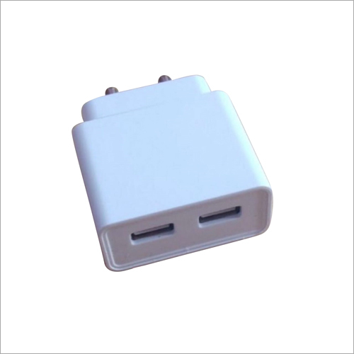 Dual Port USB Mobile Charger Adapter