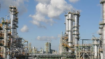 Automatic Chemical Refinery Plant